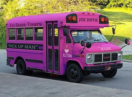 Joe Diffie's bus (by Sammy Kershaw)